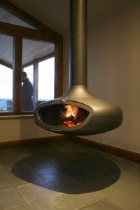 Suspended Stove for extension in Halifax UK - Contemporary ...