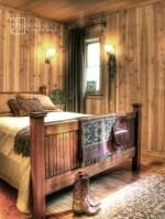 Rustic Cabin Interior Design Bedroom