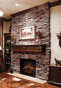 Virginia Ledgestone Fireplace - Coronado Ledgestone ...