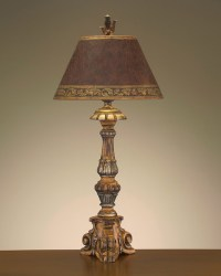 John Richard 39'' Tuscan Clay Table Lamp - Contemporary ...