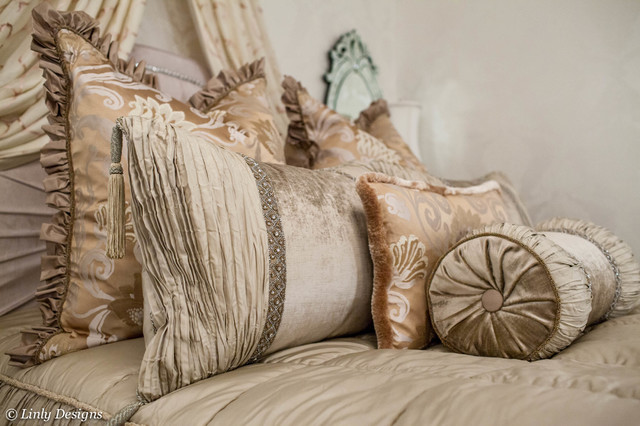Marge Carson Bedding Traditional Bedroom Chicago