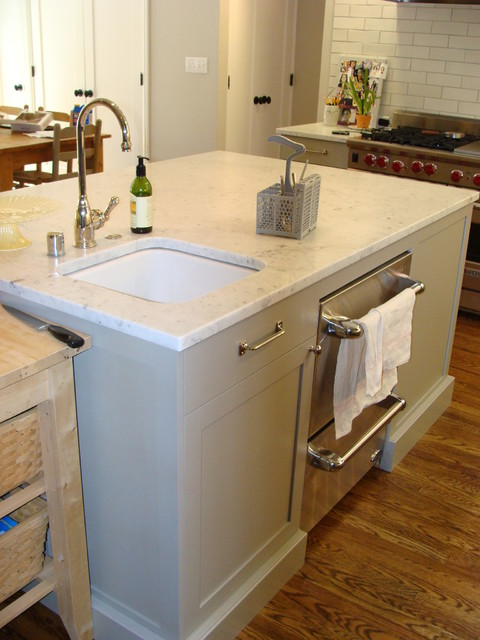 Kitchen Islands With Dishwasher Extra Sink And Dishwasher Drawers In The Island - Great