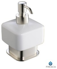 Fresca Solido Lotion Dispenser (Free Standing) - Brushed ...