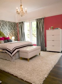 modern girly bedroom - Eclectic - Bedroom - other metro ...