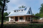 Exterior Designs Farmhouse With Metal Roofs