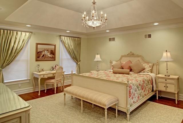 Elegant Master Bedroom Painted Design New Master Bedroom-area - Traditional - Bedroom - newark - by Sheila Rich Interiors, LLC