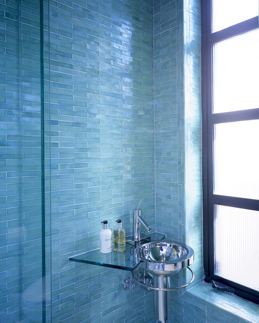 Kitchen Remodeling St Louis Ann Sacks Glass Tile - Modern - Tile - Phoenix - By Jamie