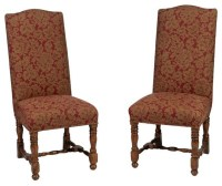 High Backed Kitchen Chairs With Wheels ~ Chairs Category