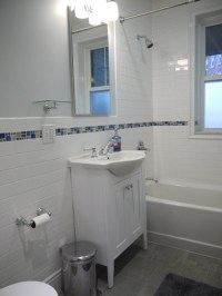 Is the shallow vanity custom-made?