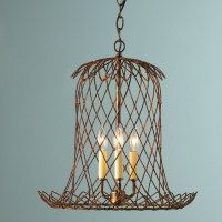 Tulip Wire Basket Lantern - Lamp Shades - by Shades of Light