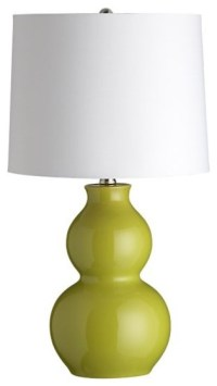 Zing Green Table Lamp - Contemporary - Table Lamps - by ...