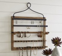Wall-mount Jewelry Hanger - Contemporary - Jewelry Boxes ...