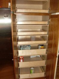 Cabinet Pantry Pull Out Shelves - boston - by ShelfGenie ...