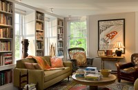 Cozy Living Room - Traditional - Living Room - burlington ...