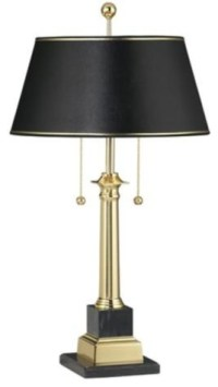 Georgetown Solid Brass Desk Lamp - Traditional - Table ...