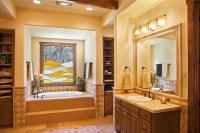 Texas Hill Country Style - Southwestern - Bathroom ...