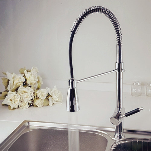 modern kitchen faucets color change contemporary kitchen faucet contemporary solid brass kitchen faucet chrome finish faucetsmall