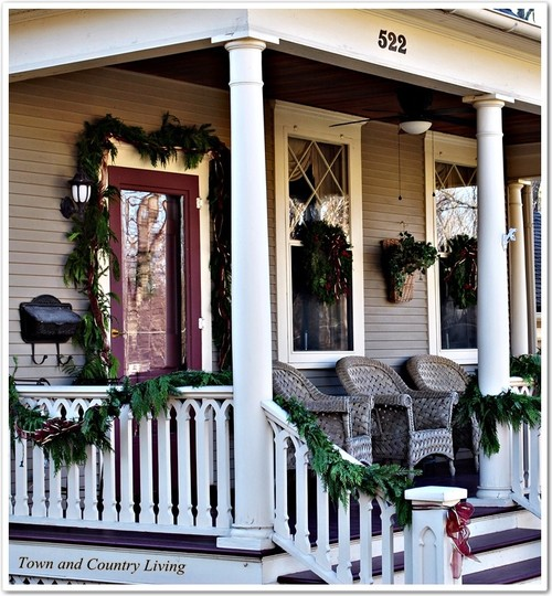 Christmas porch, Christmas Porches