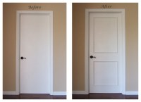 Instant Two Panel Raised Door Moulding Kit - Traditional ...