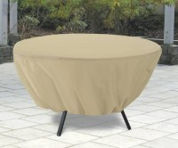 Terrazzo Round Patio Table Cover - Outdoor Furniture ...