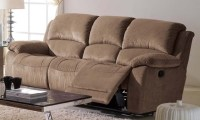 Ladonna Microfiber Reclining Sofa - Modern - Sofas - los ...