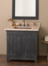 "Native Trails 30"" Americana Vanity in Anvil - Country ..."
