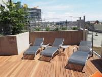 San Diego High-Rise Aparment Rooftop - Modern - Patio ...