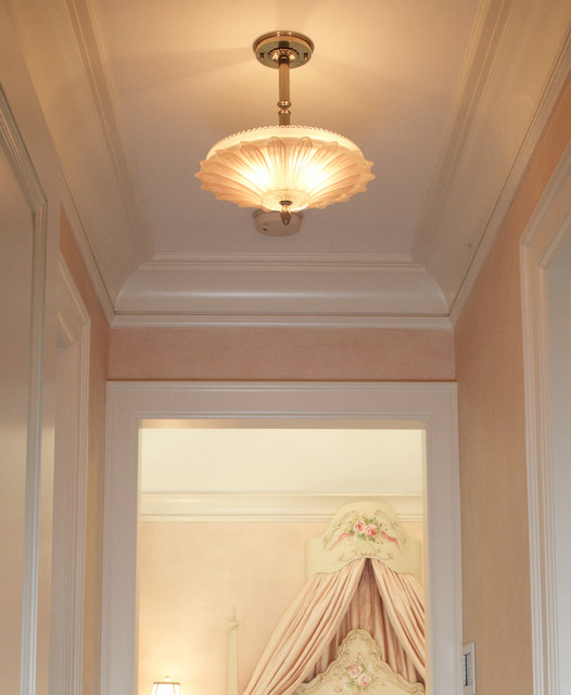 Houzz Ceiling Lights Vintage Hallway Pendant - Traditional - Ceiling Lighting