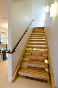 Queen Anne Residence - Contemporary - Staircase - seattle ...