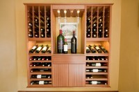 Select Series 'Wall Install' modular wine cabinets ...