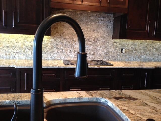 crazy horse granite granite tile backsplash rustic kitchen rustic kitchen backsplash tile