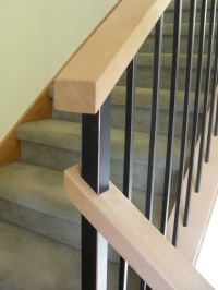 Modern handrail systems - Traditional - Staircase ...