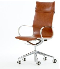 Mercury High-back Leather Office Chair - Modern - Office ...