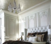 French Paneled Walls - Traditional - Bedroom - chicago ...