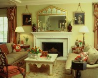 English Style Estate - Traditional - Living Room - los ...