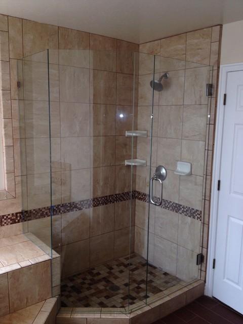 European shower door