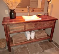 Rustic Furniture Portfolio rustic-bathroom-vanity-units ...