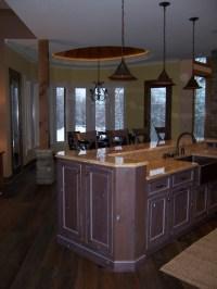 Bertch Custom / Woodbridge Inset Door Style / Rustic Alder ...