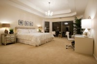 Hollywood Inspired Bedroom - Home Decorating Ideas