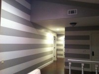 Painting Horizontal Lines/Stripes on the Interior - Modern ...