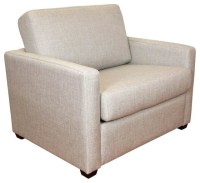Single Sofabed Chair with Timber Slats - Contemporary ...