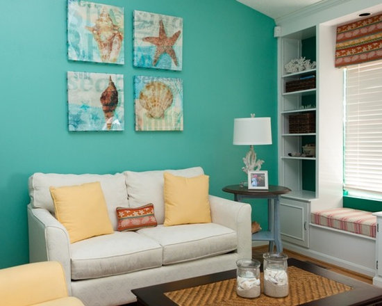 Ocean Themed Living Room Ideas - Decoration Natural Decorations - beach theme living room