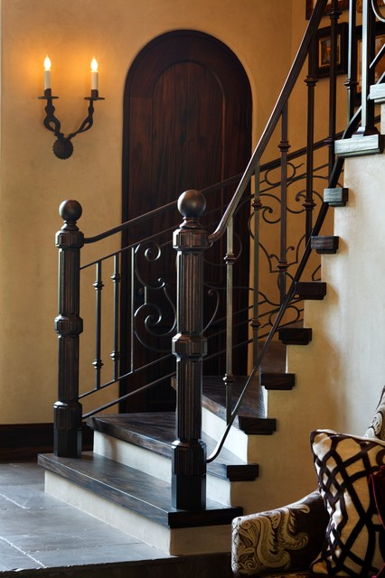 Staircase Hanging Lights Modern Italian - Traditional - Staircase - Wichita - By