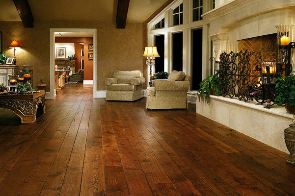 White Oak Floors Live Sawn Traditional Hardwood