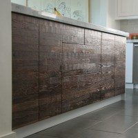Reclaimed Lumber IKEA Kitchen - Rustic - Kitchen - los ...