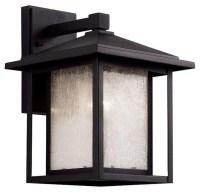Trans Globe Lighting 40361 BK Outdoor Wall Light In Black ...