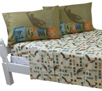 X Games Full Bed Sheet Set Extreme Sports Graphix Bedding ...