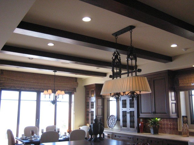 Houzz Ceiling Lights Kitchen Lighting - Traditional - Ceiling Lighting - San