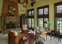 Period Colonial Home - Living Room - philadelphia - by ...