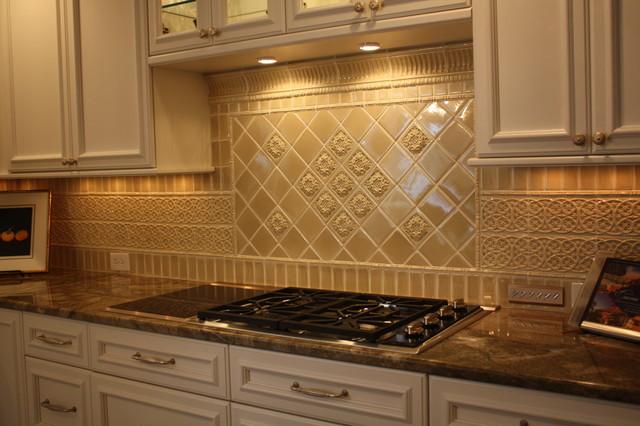 glazed porcelain tile backsplash traditional kitchen cleveland ceramic tile backsplash kitchen backsplash tile